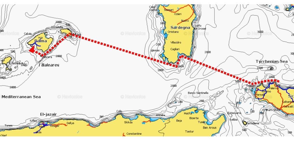Route Pallermo Mallorca (2)
